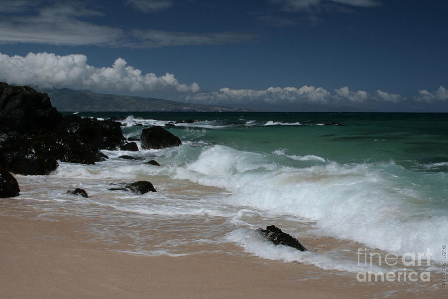 i miha kai i ka aina Hookipa Beach Maui North Shore Hawaii Photograph