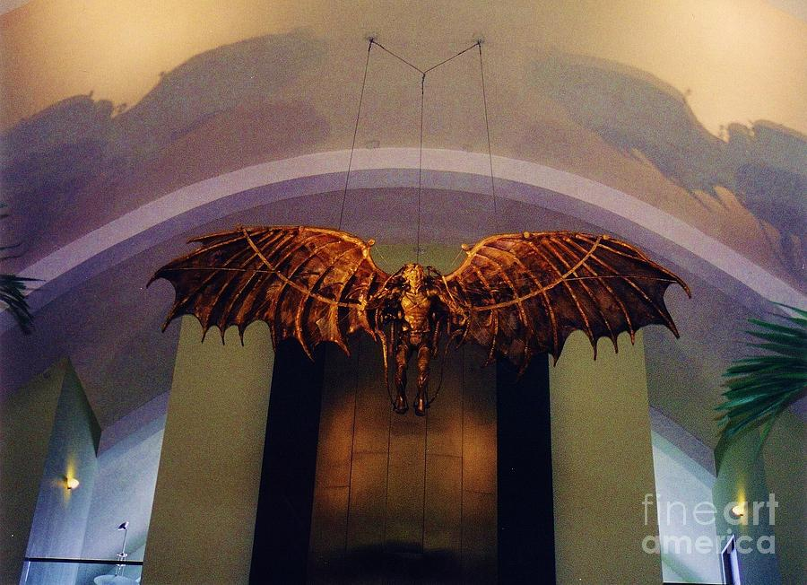 Icarus In The Louis Armstrong International Airport In New Orleans Photograph  - Icarus In The Louis Armstrong International Airport In New Orleans Fine Art Print