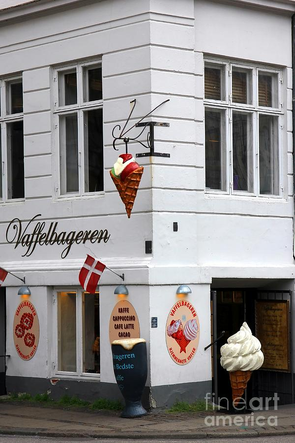 Ice Cream Photograph - Ice Cream Shop by Sophie Vigneault