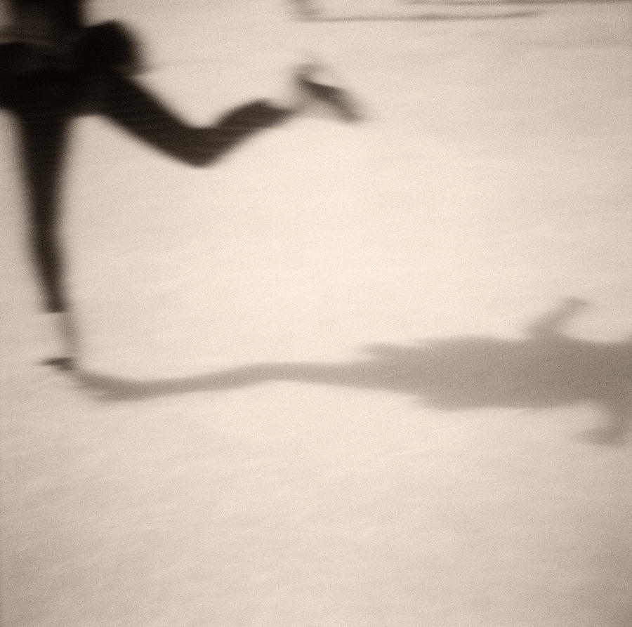 Ice Skater Photograph  - Ice Skater Fine Art Print