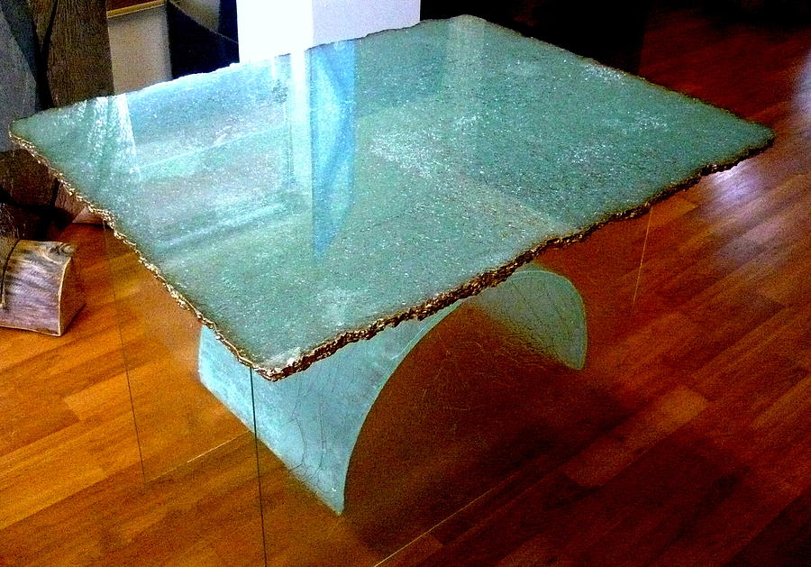 Ice Table Glass Art By Rick Silas