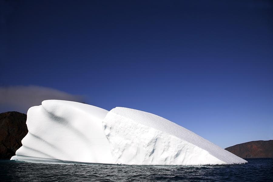 Iceberg In Canadian Arctic Photograph