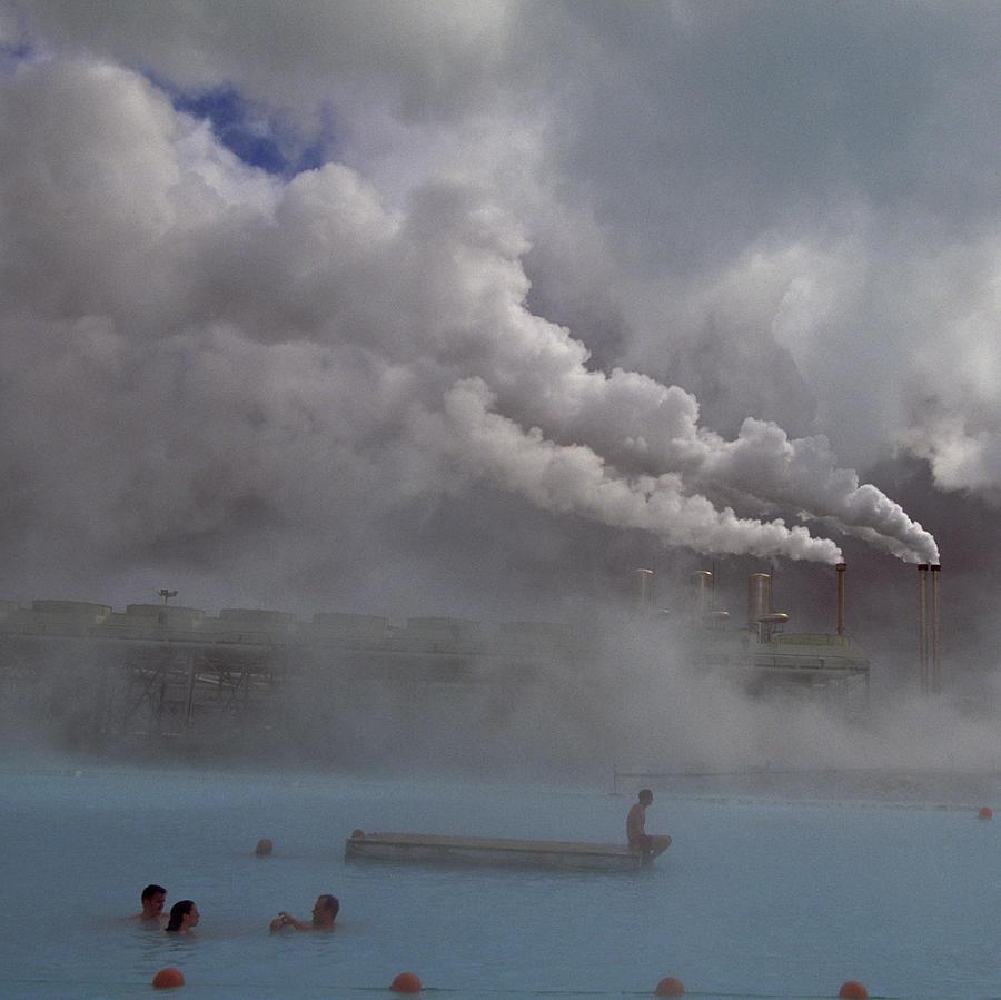 Iceland, Blue Lagoon, Grindavik, People Photograph