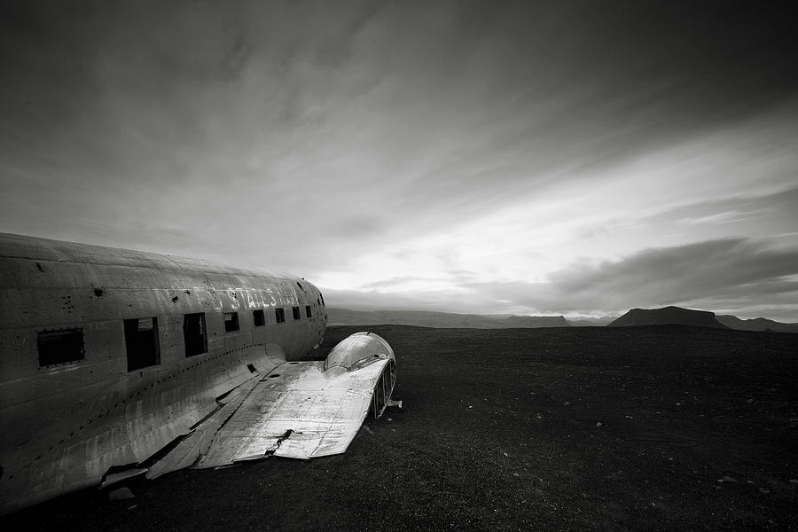 Iceland Dc-3 Photograph
