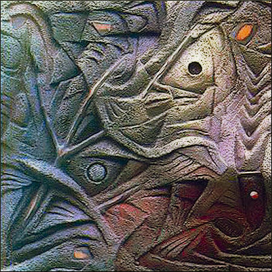 Icthus Sculpture - Icthus 1984 by Glenn Bautista