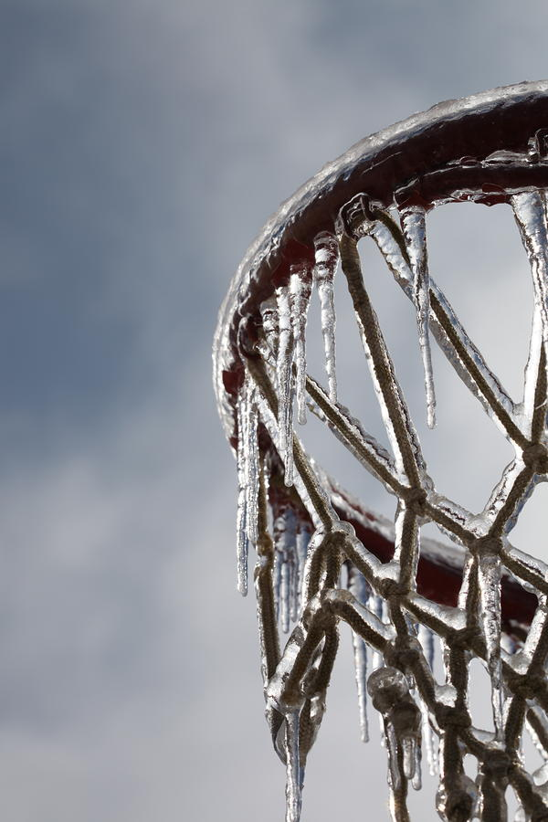 Icy Hoops Photograph  - Icy Hoops Fine Art Print