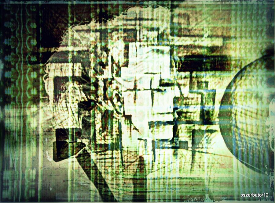 Identity In Uninterrupted Mutation Digital Art  - Identity In Uninterrupted Mutation Fine Art Print