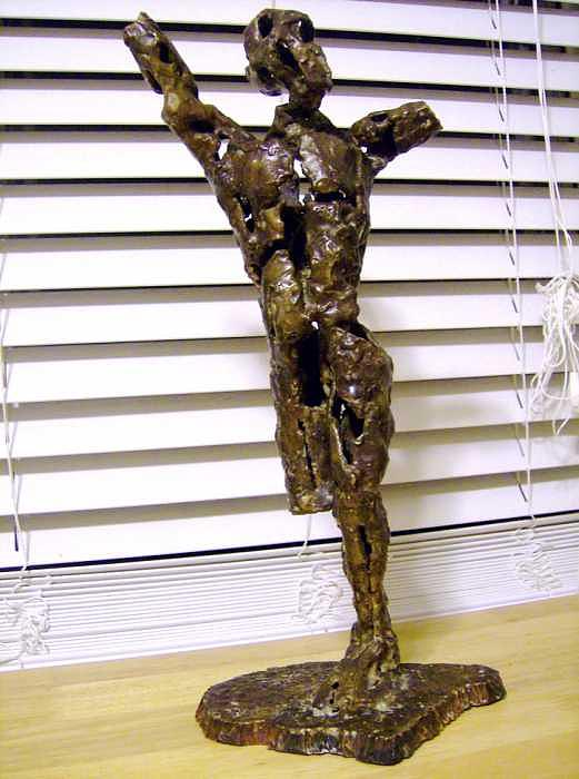 I.e.d. Figure Study Sculpture