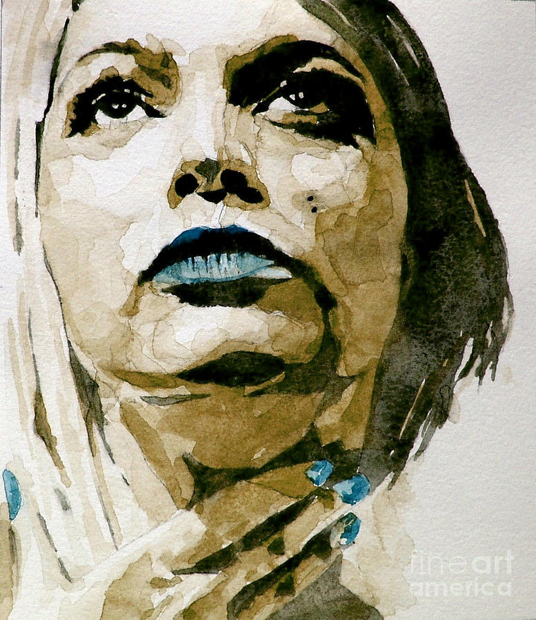 Portrait  Painting - If Theres A Big Guy Up There by Paul Lovering