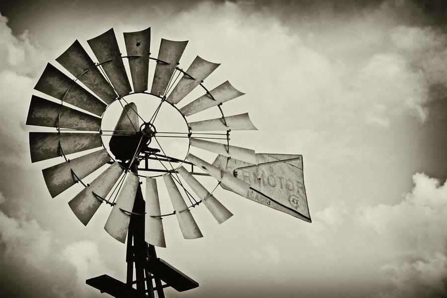 If Windmills Could Talk Photograph  - If Windmills Could Talk Fine Art Print