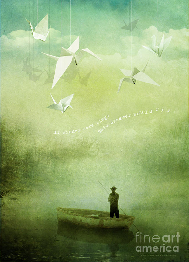 If Wishes Were Wings Digital Art