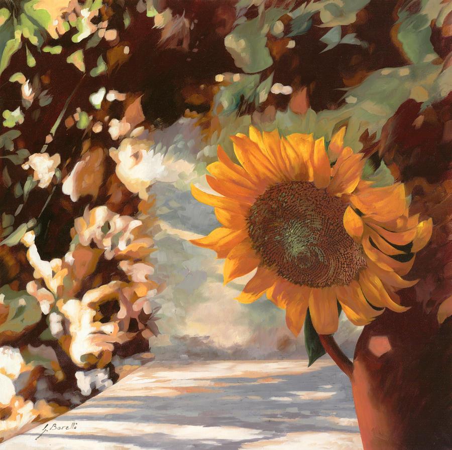 Il Girasole Painting