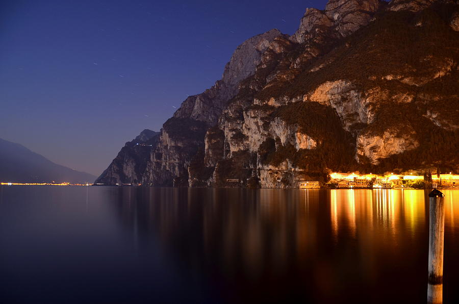 Il Lago Di Notte Photograph