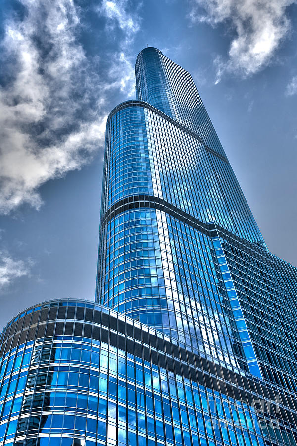Il0022 Trump Tower Chicago Photograph  - Il0022 Trump Tower Chicago Fine Art Print