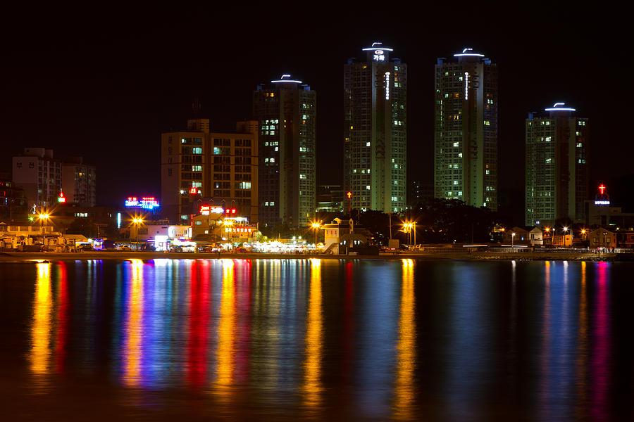 Ilgwang-myeon Beach South Korea Photograph