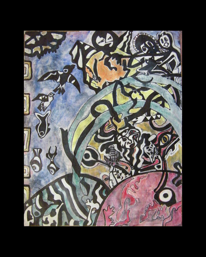 Images From The Collective Unconscious Painting