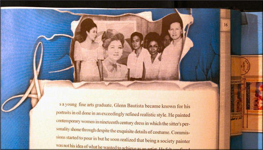 Imelda Marcos 1967 Painting