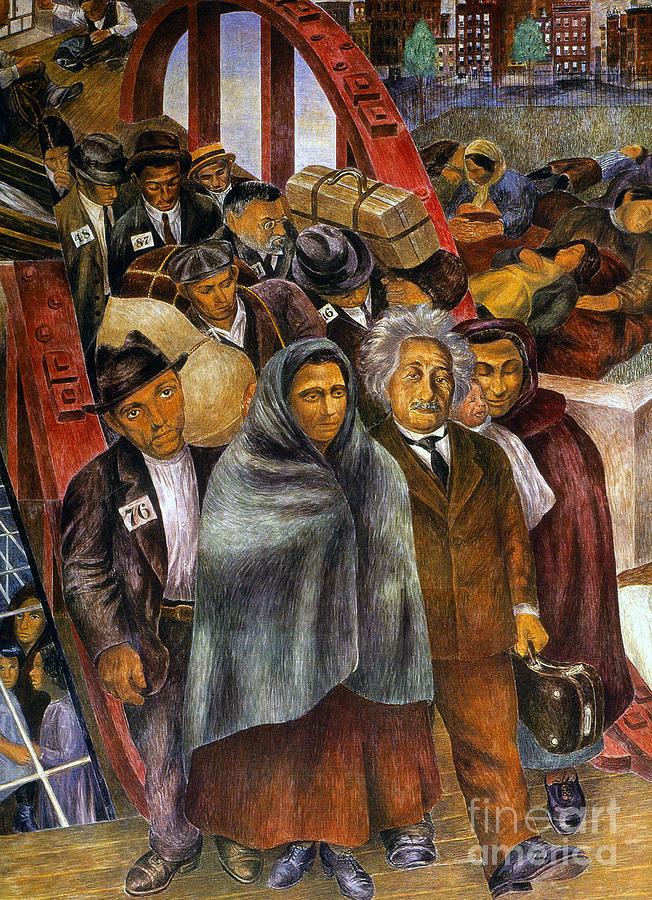Immigrants, Nyc, 1937-38 Photograph