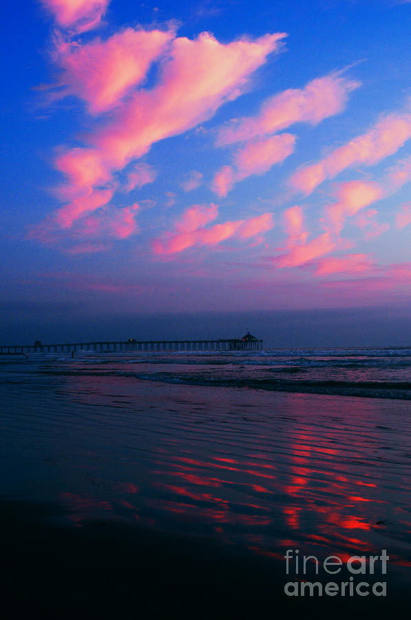 Imperial Beach At Dusk Photograph