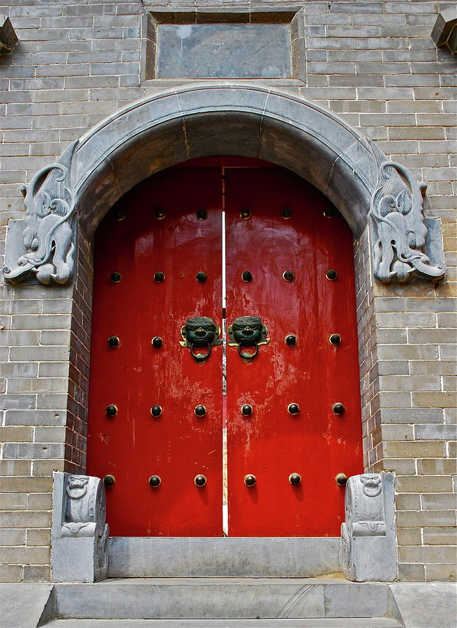Imperial Door Photograph  - Imperial Door Fine Art Print