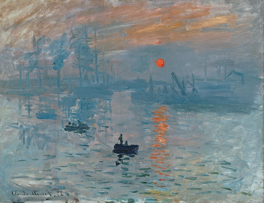 Impression Sunrise Painting