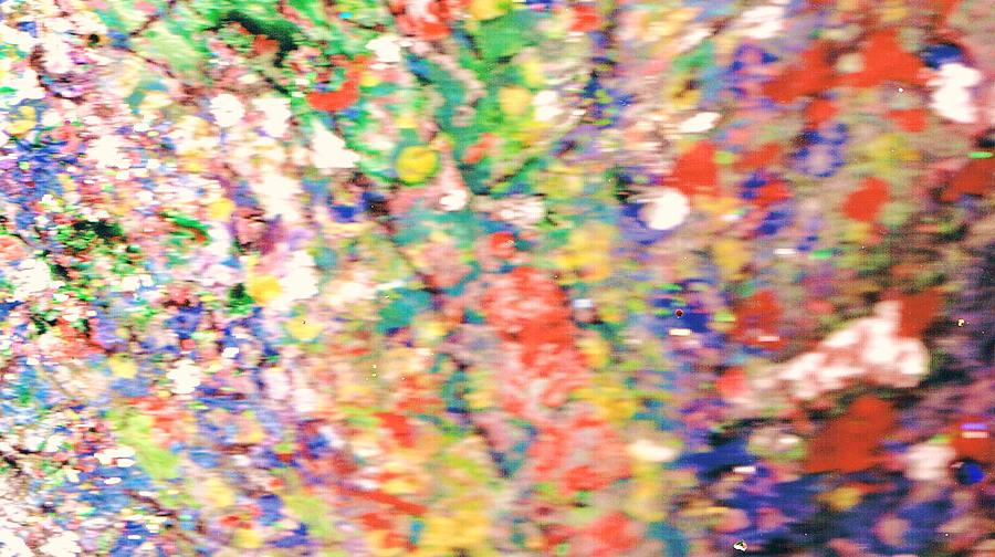 Impressionistic Floral Fantasy  Painting
