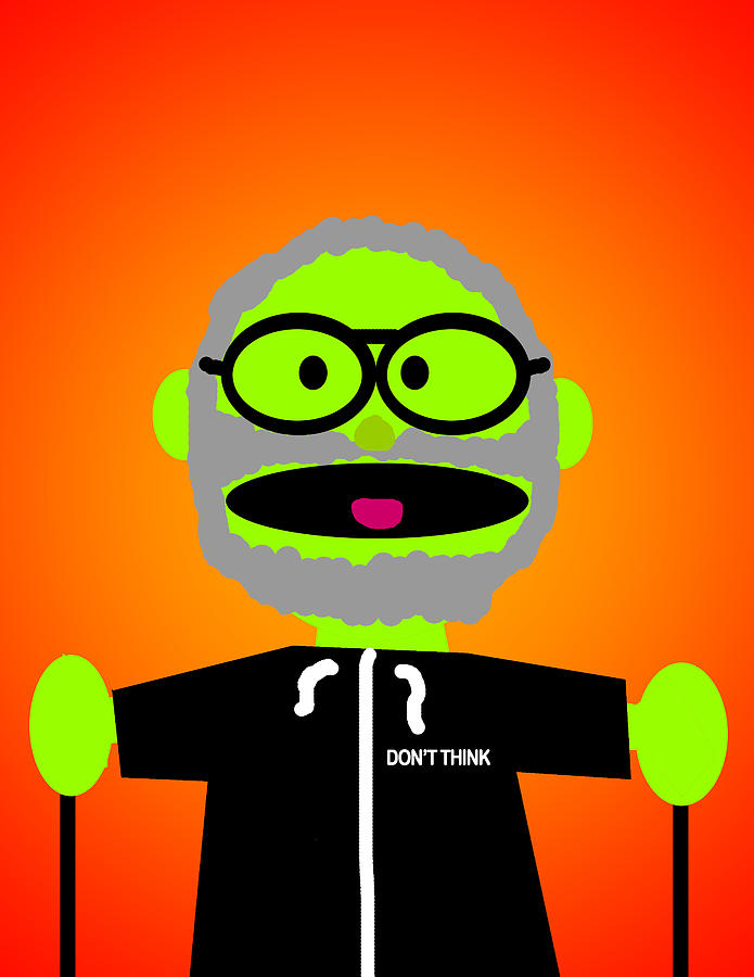 Improv Puppet Digital Art