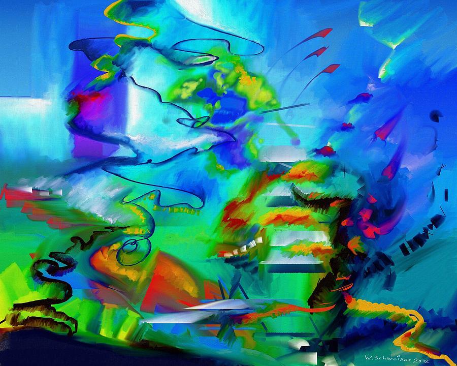 Improvisation Scriabin Piano Works Painting