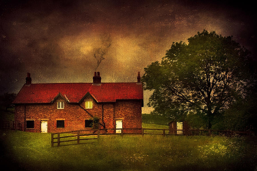 Art Photograph - In A Village by Svetlana Sewell