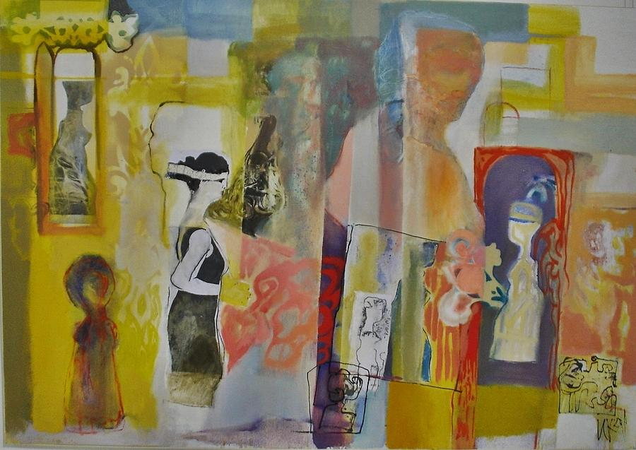 In Between Realities Painting