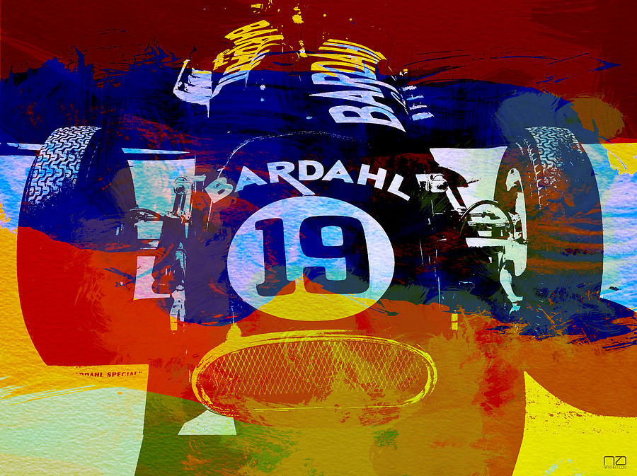 Formula One Photograph - In Between The Races by Naxart Studio