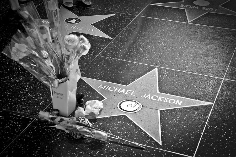 in memoriam Michael Jackson Photograph