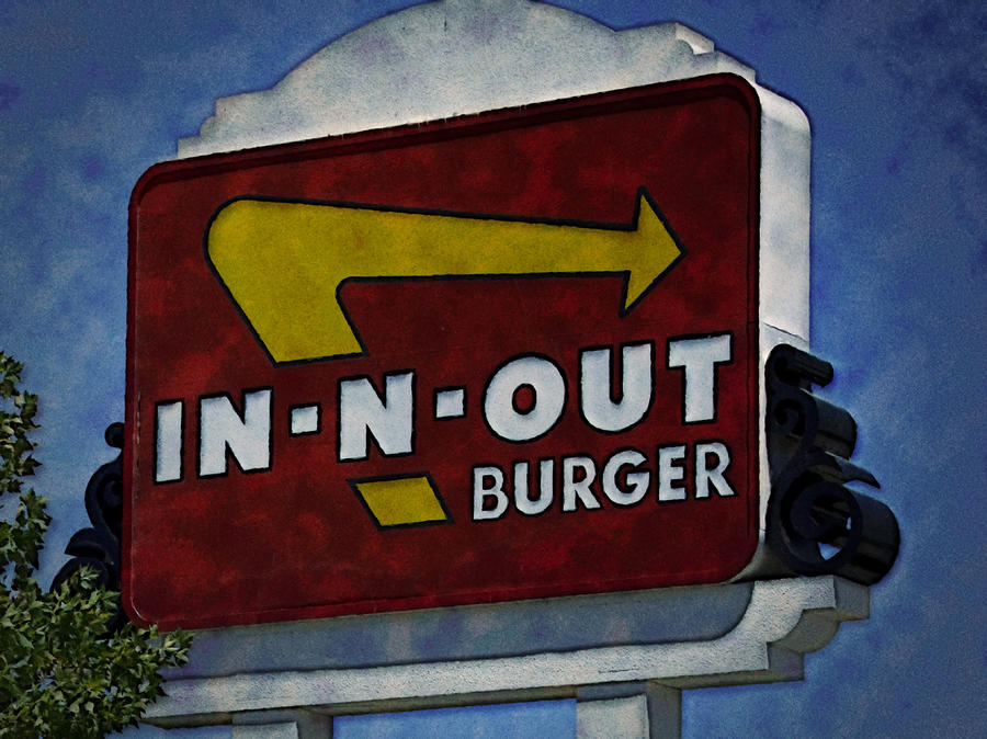 In-n-out Photograph  - In-n-out Fine Art Print