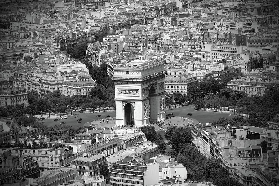 In Paris Bw Photograph  - In Paris Bw Fine Art Print