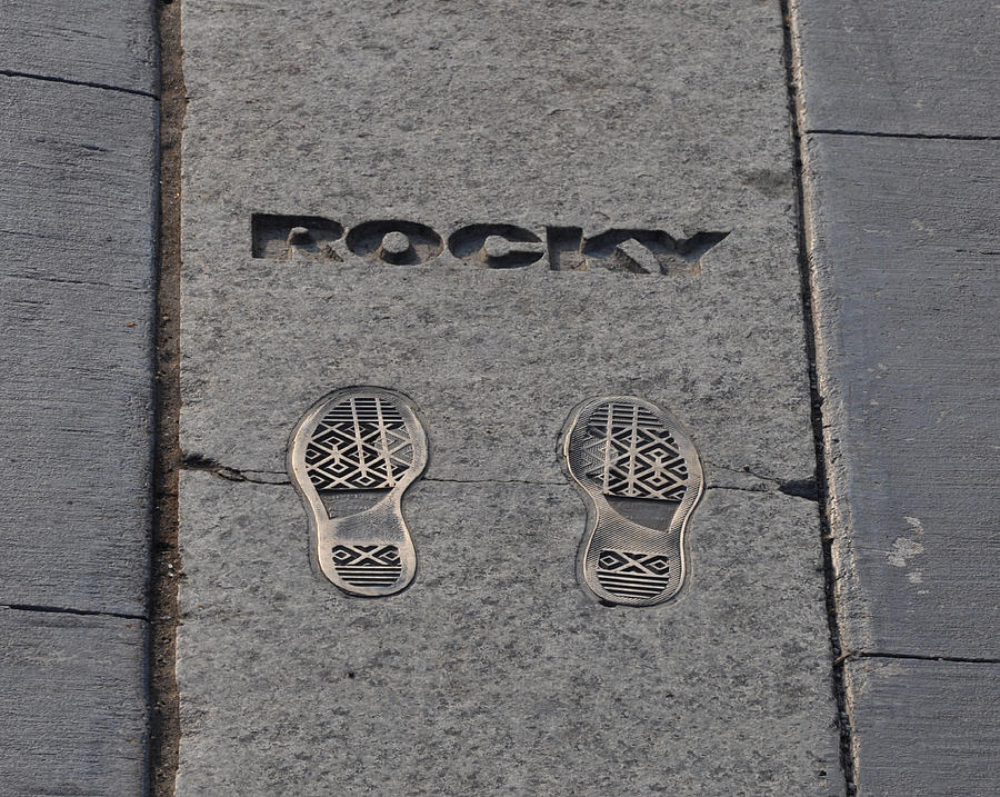 In The Footsteps Of Rocky Photograph