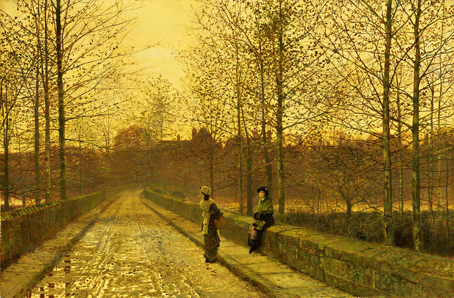 In The Golden Gloaming Painting  - In The Golden Gloaming Fine Art Print