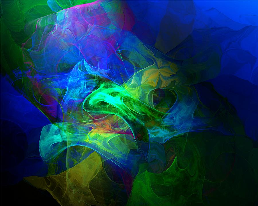 In The Light Digital Art  - In The Light Fine Art Print