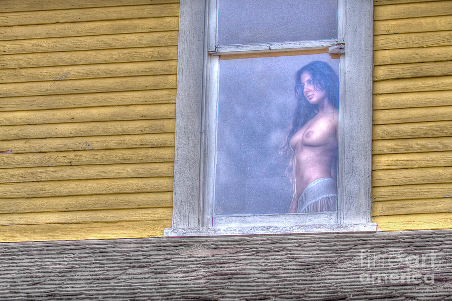 In The Window Photograph  - In The Window Fine Art Print