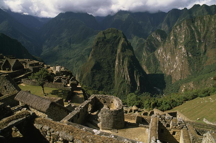 Inca Ruins At Machu Picchu Are Biggest Photograph