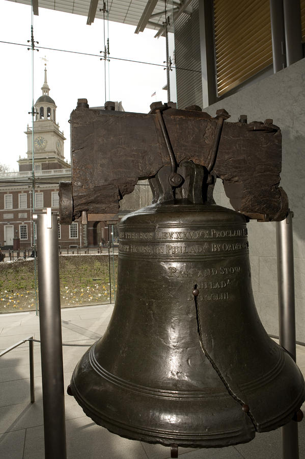 Independence Hall Overlooking Photograph