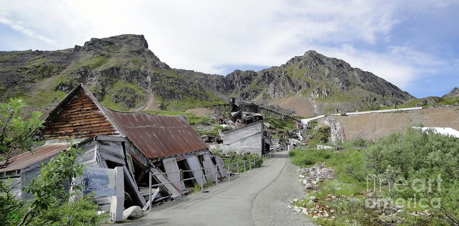 Independence Mine Buildings Photograph