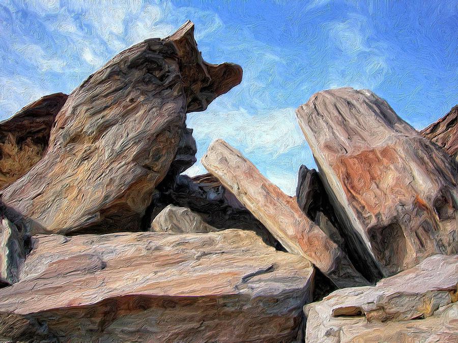 Indian Canyon Rocks By Dominic Piperata Indian Canyon