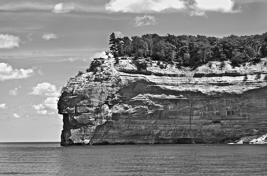 Indian Head Pictured Rocks Photograph  - Indian Head Pictured Rocks Fine Art Print