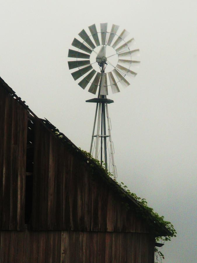 Indiana Windmill Photograph
