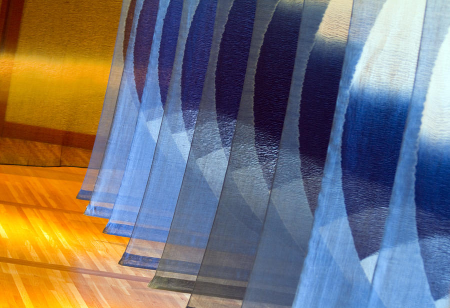 Indigo Circles B Photograph