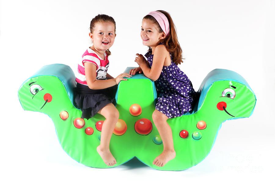 Indoor Playground Photograph
