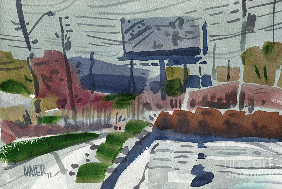Industrial Park Two Painting