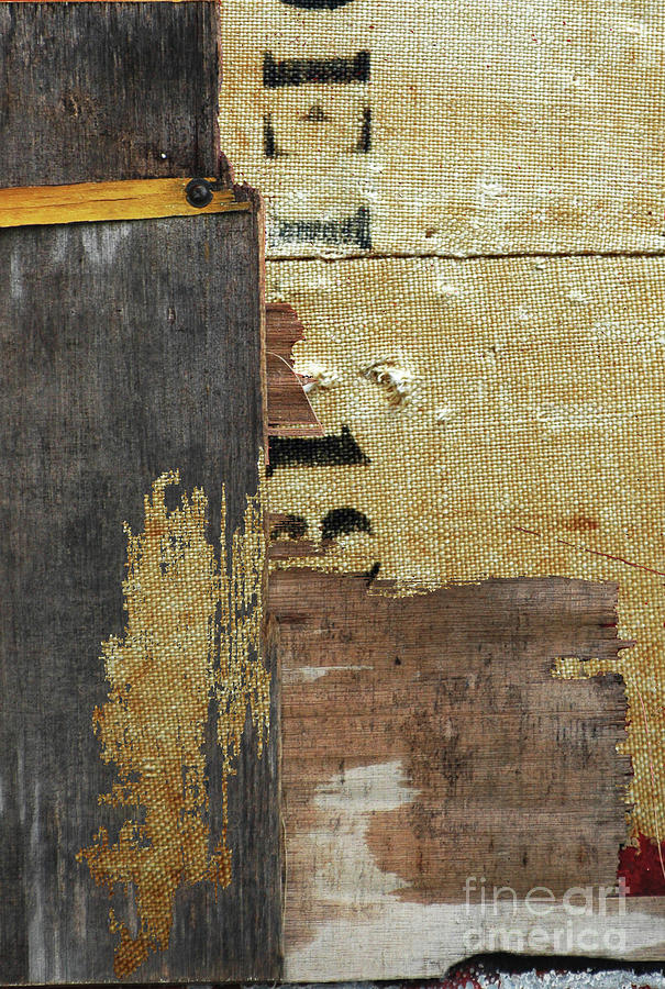 Industrial Patina Abstract Painting