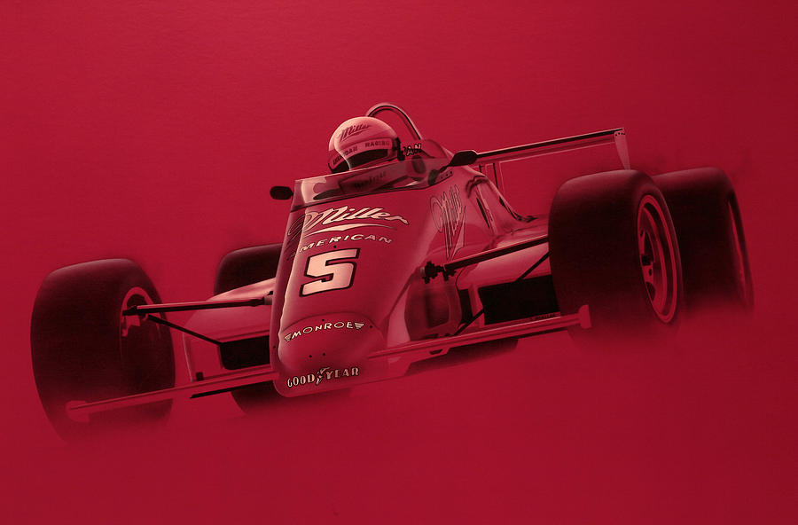 Indy Racing Painting