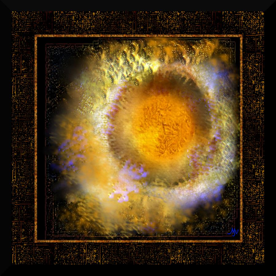 Ineffable Fire Digital Art  - Ineffable Fire Fine Art Print